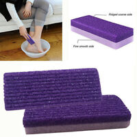 3x Pumice Sponge Stone Exfoliate Foot Hard Dead Skin Pedicure Remover Scrub~HEN