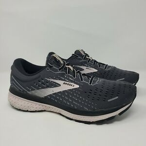Brooks Womens Ghost 13 1203381B062 Black Running Shoes Lace Up Size 9 B