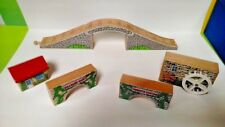 Brio / Thomas & Friends Wooden Railway Train Bridges Bridge Lot Kildane Dairy