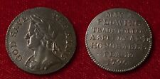GREAT BRITAIN 1796 CONDER TOKEN FARTHING MIDDLESEX NATIONAL SERIES GEORGE III