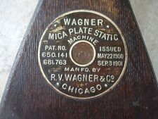 Quirky Wooden part Antique Medical Scientific Instrument Wagner Chicago USA Wood