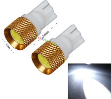 2x T10 194 168 W5W 1.5W Ampoule LED SMD 1.5W Bright White LED HID