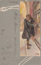 * TOSCA - Metlicovitz - Ed.Ricordi&C.Milano N.61 - Firenze 1900