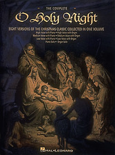 "THE COMPLETE ""O HOLY NIGHT"" LOW/MEDIUM/HIGH VOICE MUSIC BOOK-VOCAL/PIANO-NEW!!"