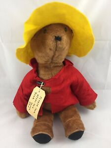 "Vintage 1975 19"" Paddington Bear Darkest Peru to London England Eden Toys"