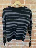 NEXT WOMENS BLACK AND SILVER THREAD JUMPER SIZE XS BNWT RRP £26