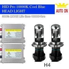 55W Hi/Lo Beam Bi-XENON HID Conversion Kit H4 10000K Headlight Bulbs YSV 2X