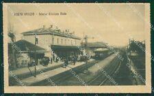 Varese Busto Arsizio Stazione Treno STRAPPO cartolina QK5937
