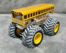 Hot Wheels Monster Jam Higher Education Bus snow tires 1:64 Holiday