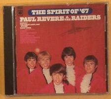 Paul Revere & The Raiders- The Spirit Of '67- CD
