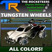 [PS4/PSN] Rocket League All Painted TUNGSTEN  Rocket Pass III Limited Wheels