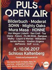 PULS OPEN AIR  2017 MÜNCHEN  ++ orig.Concert-Konzert-Poster A1 F/U