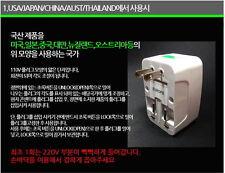 Travel Universal Adaptor w/ Surge Protector 110~250V/10V Multi-Plug Adapter noo
