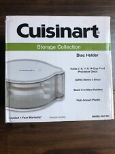 Cuisinart 3 disc holder DLC-DH new in box ~ fast shipping! Storage Collection