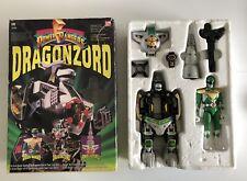 1993 BAN DAI MIGHTY MORPHIN POWER RANGERS DRAGONZORD & GREEN RANGER INCOMPLETE