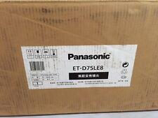 NEW Panasonic ET-D75LE8 Projector Power Zoom Lens PT-D7700, PT-DW7000, PT-D10000