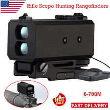 700M Laser Rangefinder Hunting Sight Archery Distance Meter Tactical Rifle Scope