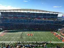4 Midfield Tickets Cincinnati Bengals vs Dallas Cowboys 12/13