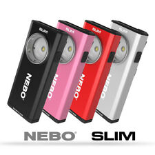 New Nebo Slim USB Rechargeable Flashlight Work Light COB LED 500 Lumen - 6694
