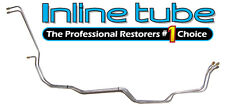 1971-72 Chevrolet Truck Transmission Cooler Lines 700R4 Trans Tube OE Steel