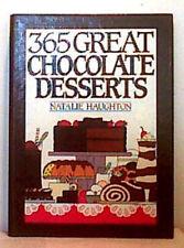 365 GREAT CHOCOLATE DESSERTS ~ Haughton ~ 1991 ~ FIRST EDITION 1st Pr HC Spiral
