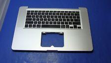 "MacBook Pro 15"" A1286 MC118LL/A 2009 Genuine Top Case w/ Keyboard 661-5244 GLP*"