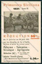 Palermo Costumi Siciliani Carretto Siciliano cartolina QQ0944