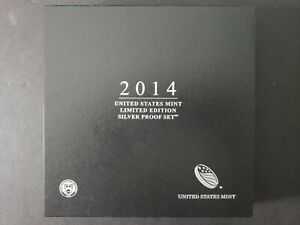 2014 Silver Proof Set LIMITED EDITION U.S. Mint (LS3) **VETERAN OWNED**