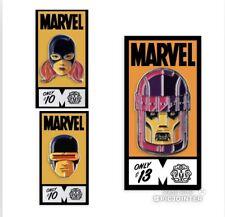 2020 SDCC Mondo Marvel Comics X-Men Jean Grey Sentinel Cyclops 3 Enamel Pin Set