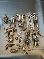 MCFARLANE SPAWN INTERLINK Series 18 Action FIGURES Lot used and damaged