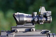 ACOG 4X32 Working Fibre Optic, Eye Focus & Red Dot Sight