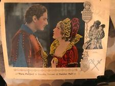 Dorothy Vernon Of Haddon Hall 1924 UnitedArtists silent lobbycard Mary Pickford