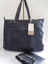 New COSTANZA ROTA Studded Flower Italian Leather Tote/Shoulder Bag