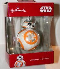 Hallmark Star Wars Droid BB-8 Christmas Tree Ornament 2016 New NOS