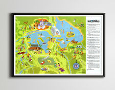"1971 Walt Disney World Resort POSTER! (24"" x 36"" or smaller) - Opening Year"