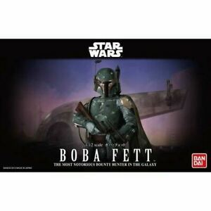 Star Wars Boba Fett 1:12 Scale Model Kit. Bandai