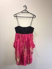 Wish Pink Cocktail Dress Size 8