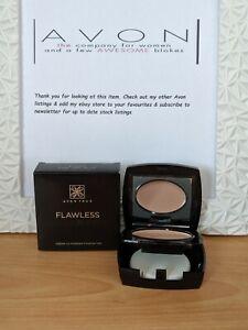 BNIB Avon True Colour Flawless Ultramatte Cream To Powder Foundation FREE P&P