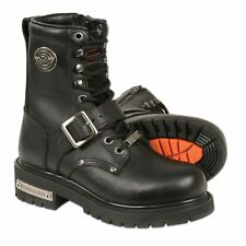 Milwaukee Leather Women's 6 Classic Motorcycle Boots Black Company