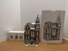 Dept 56 1995 Brighton School #58876 & Holiday Field Trip Christmas In The City