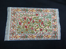 "4""x6"" #10KK  Dollhouse Miniature 1:12 Scale Floor Carpet  Woven Area Rug"