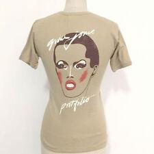 ⭕ 70s Vintage GRACE JONES T-shirt : soul disco keith haring bjork tlc dress 80s