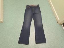"Next Bootcut Jeans Size 14 Leg 32.5"" Faded Dark Blue Ladies Jeans"