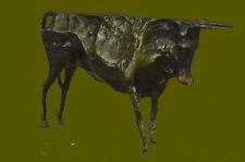 "PABLO PICASSO HOMMAGE - BRONZE SCULPTURE - "" THE BULL - EL TORO "" - SIGNED ! ART"