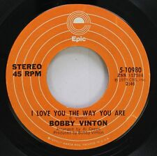 Pop Nm! 45 Bobby Vinton - I Love You The Way You Are / Hurt On Epic