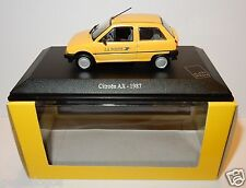 UNIVERSAL HOBBIES UH CITROEN AX 1987 POSTES POSTE PTT NEUF 1/43 in luxe BOX