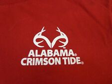 Alabama Crimson Tide  Realtree Outfitters by The Game  T-Shirt   Large   F2