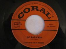 """George Cates 45 Record EP 7"""" THEM from Picnic & MOONGLOW Coral 9-61618"""