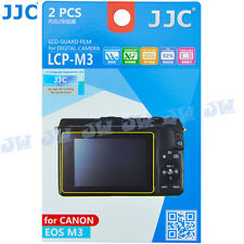 JJC 2PCS LCD Guard Film Display Screen Protector Cover Film For Canon EOS M10 M3