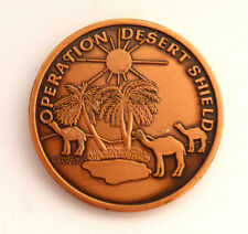 82nd Airborne Guard of Honor Gulf War Operation Desert Shield Challenge Coin